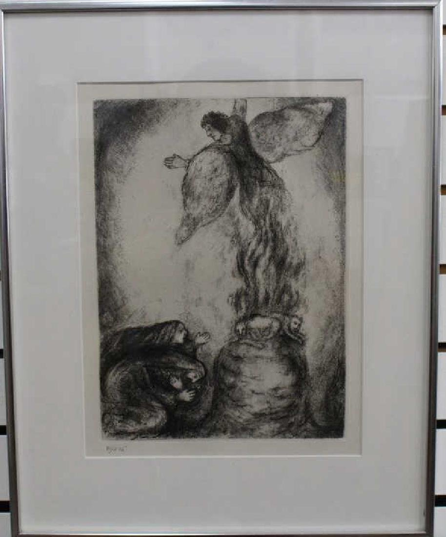 After Chagall, Lithograph 81/275 - 2