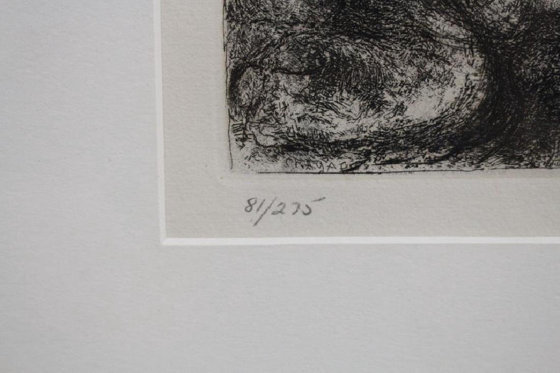 After Chagall, Lithograph 81/275 - 3
