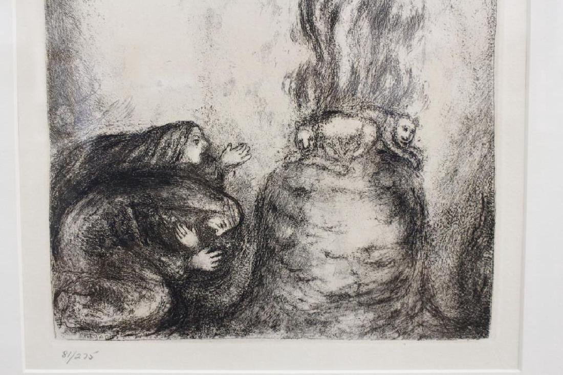 After Chagall, Lithograph 81/275 - 5