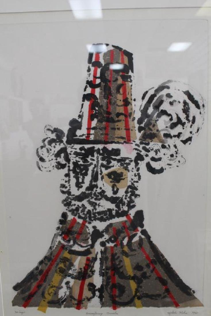"""Imaginary Ancestor"" Misch Kohn (1916-) - 3"