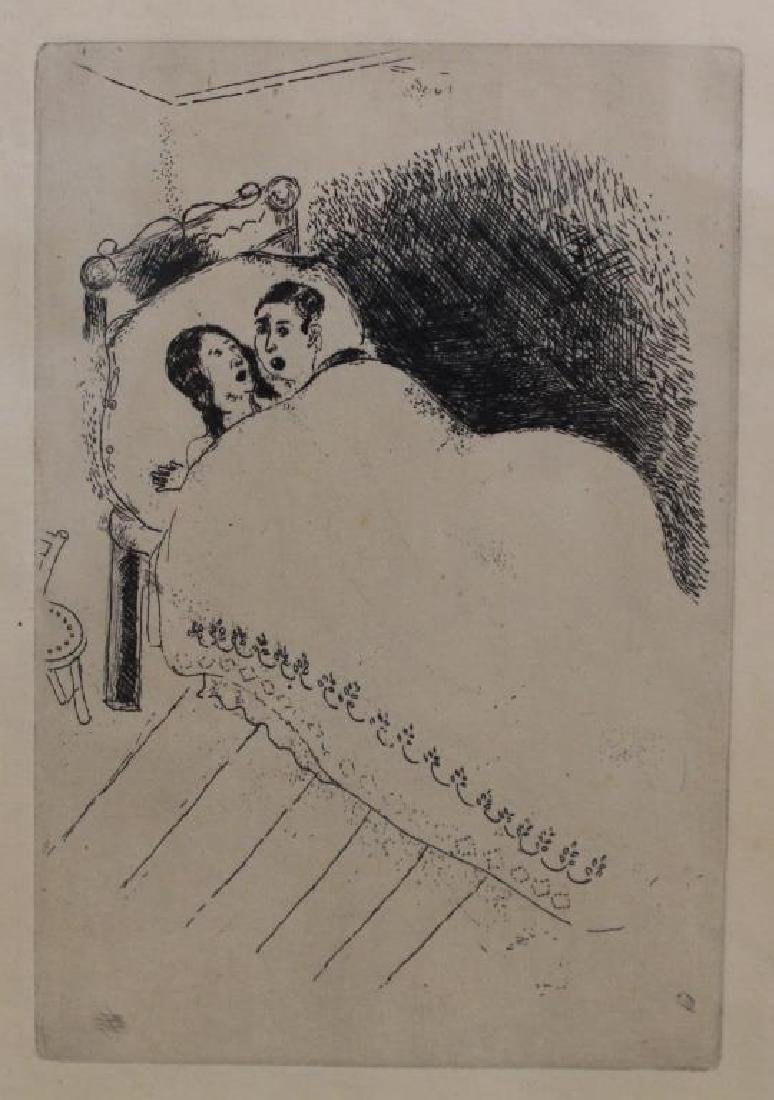 """""""Maternity"""" Marc Chagall Etching"""