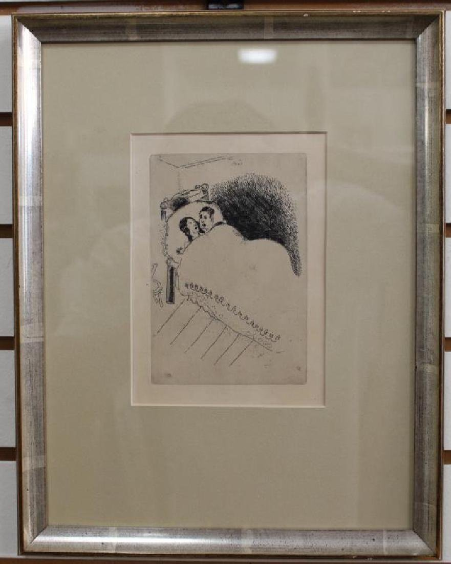 """Maternity"" Marc Chagall Etching - 2"
