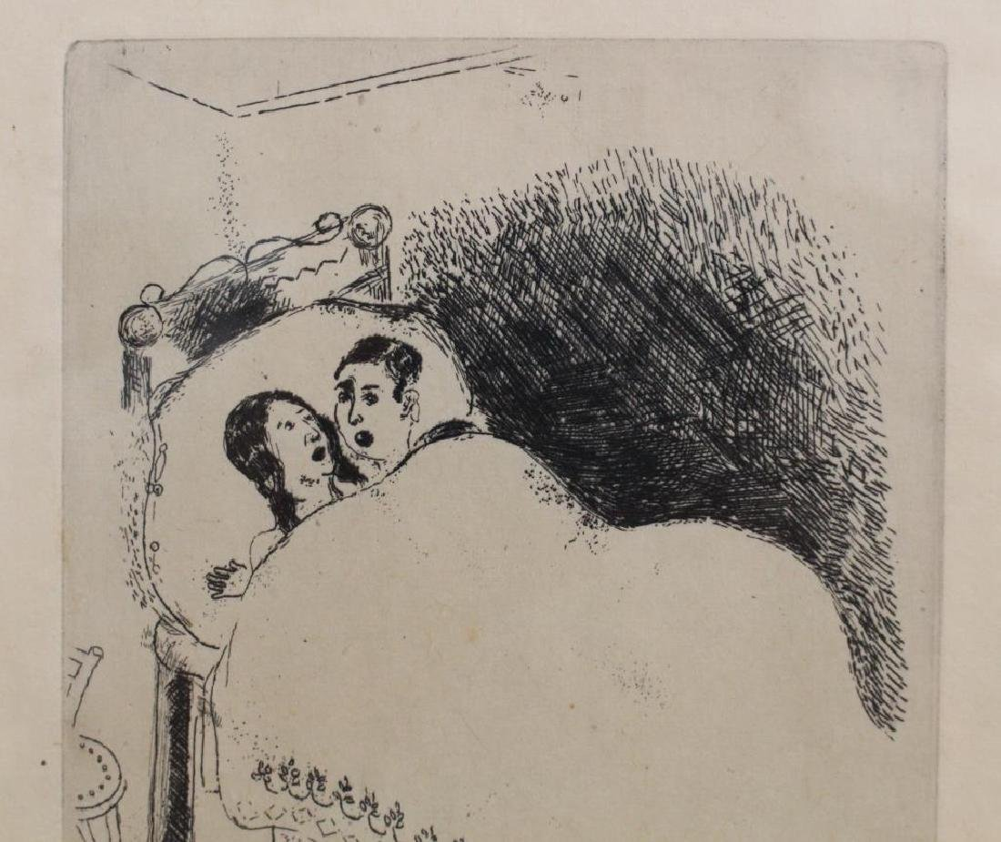 """Maternity"" Marc Chagall Etching - 3"
