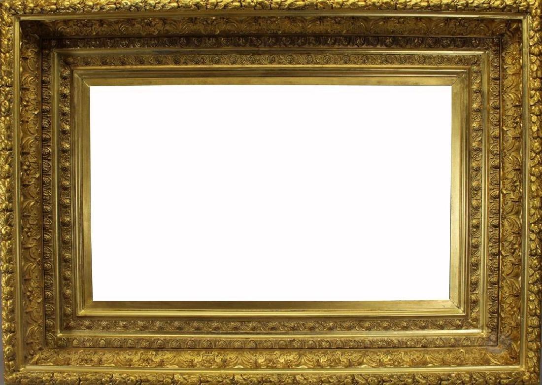 Large Antique American Gilt/Wood Frame