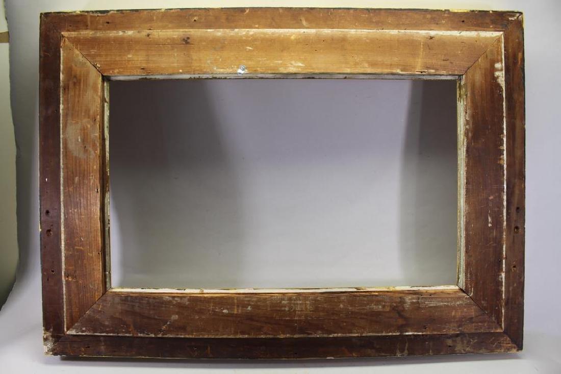 Large Antique American Gilt/Wood Frame - 3