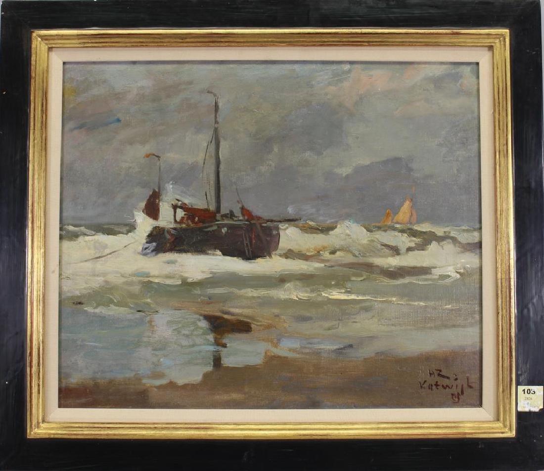 Henry Reuterdahl (1871 - 1925) Ex Christie's