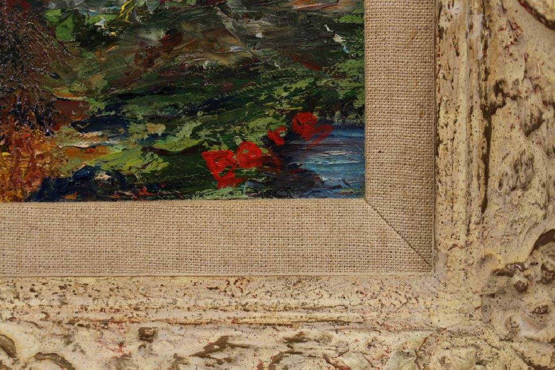 Signed Impressionist Fall Landscape, American - 3