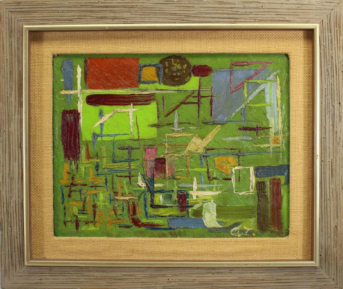 Signed, 20th C. Abstract Painting