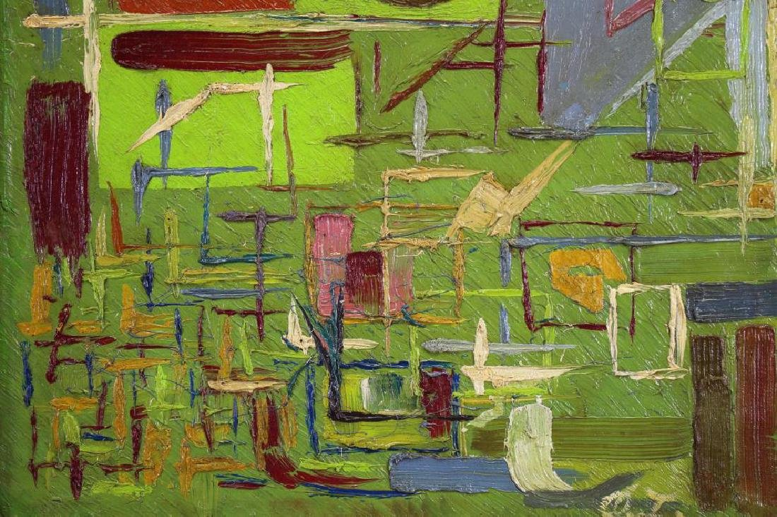 Signed, 20th C. Abstract Painting - 2