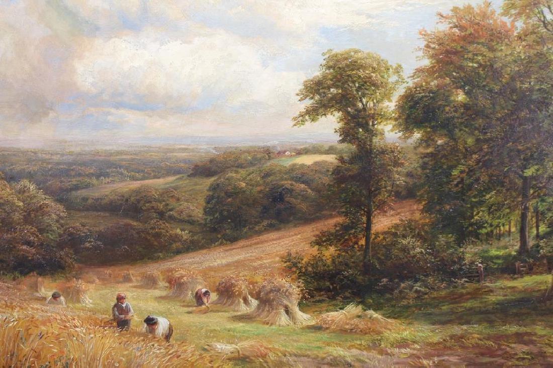 "1888 George Turner ""Harvesting in Derbyshire"" - 2"