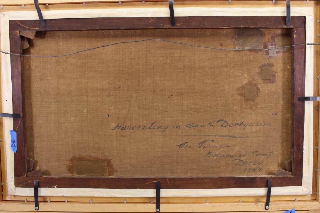 "1888 George Turner ""Harvesting in Derbyshire"" - 4"