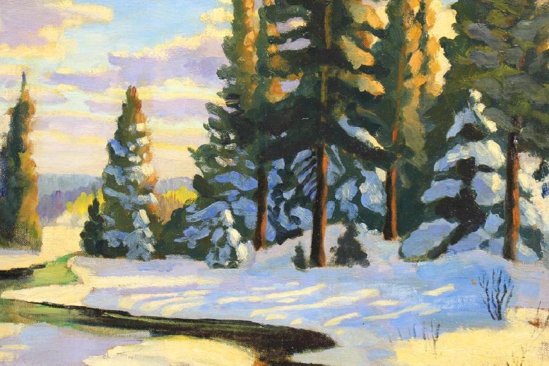 20th C. Canadian Winter Landscape - 2