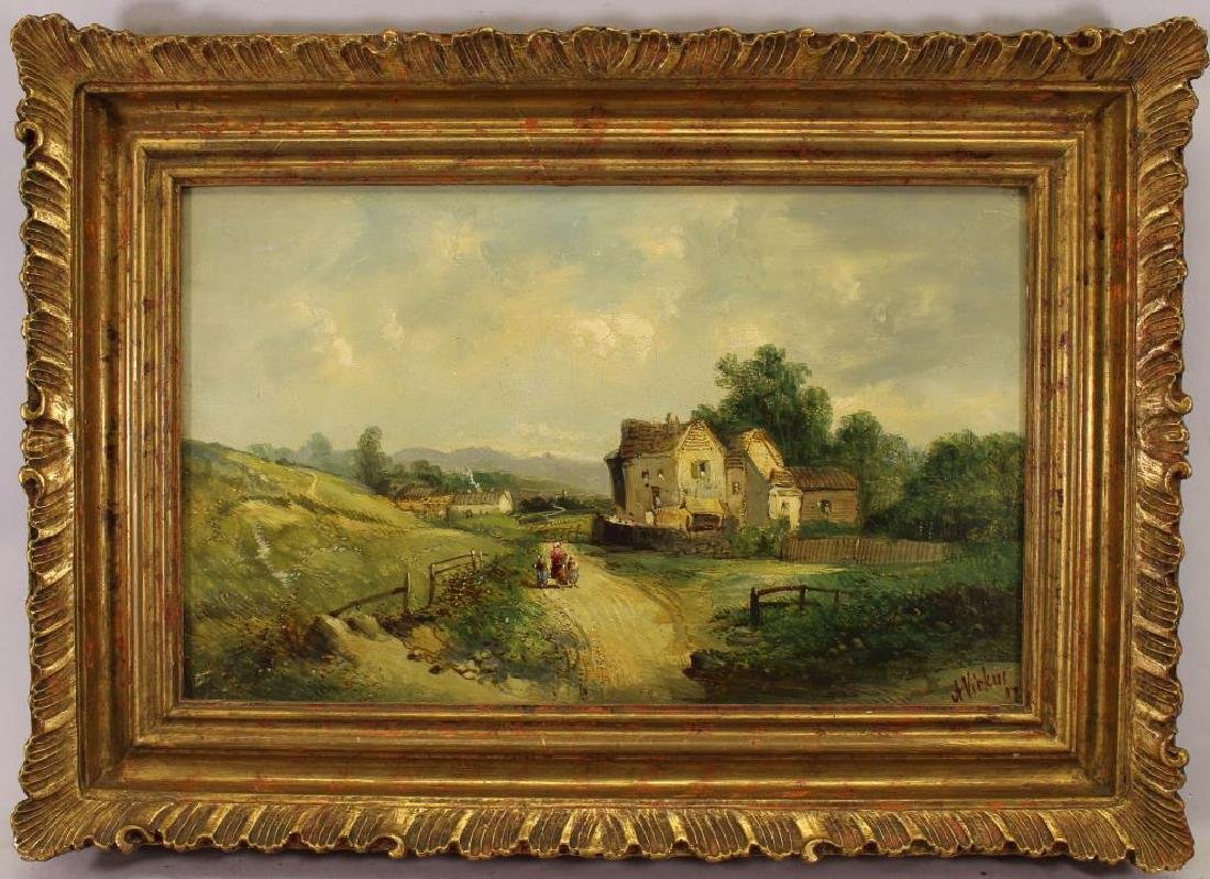 Alfred H Vickers (1853 - 1907) Country Cottage