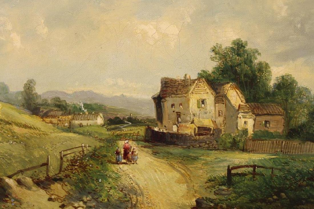 Alfred H Vickers (1853 - 1907) Country Cottage - 2