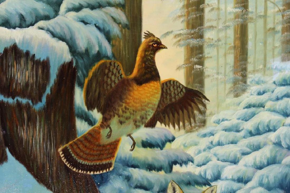 American School, Fox Hunting Game in Winter - 2