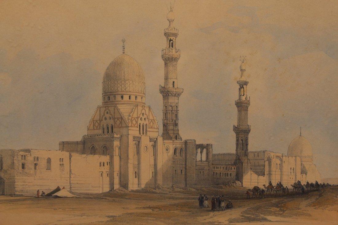 (2) David Roberts (1796 - 1864) Orientalist Engravings - 2