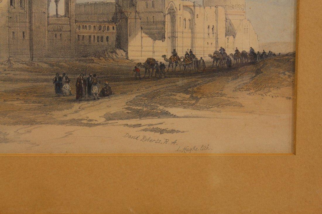(2) David Roberts (1796 - 1864) Orientalist Engravings - 3