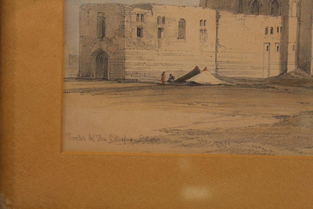 (2) David Roberts (1796 - 1864) Orientalist Engravings - 4