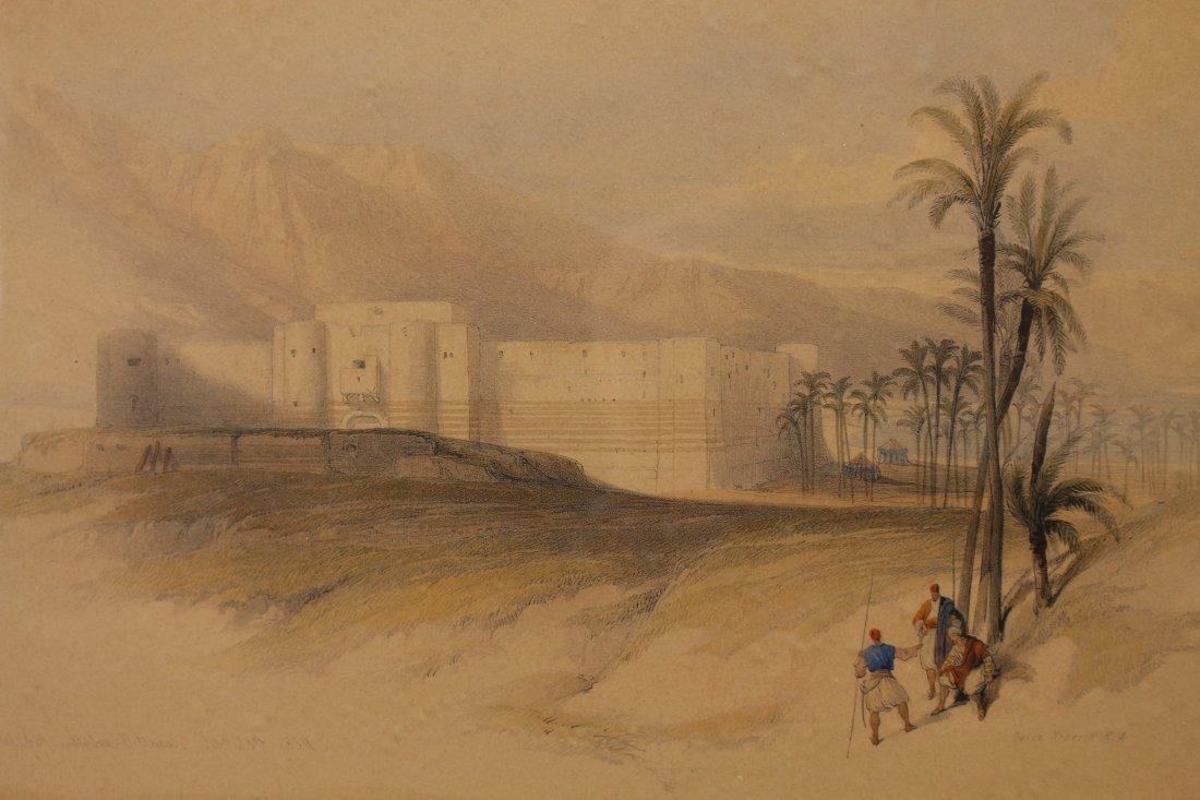 (2) David Roberts (1796 - 1864) Orientalist Engravings - 5