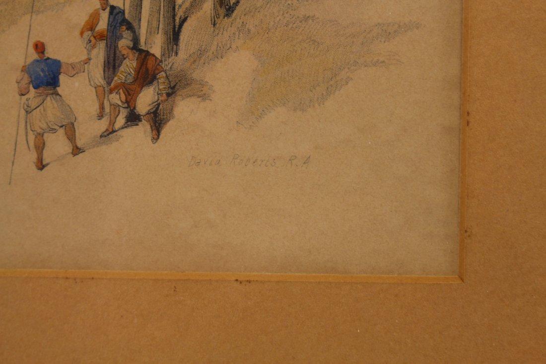 (2) David Roberts (1796 - 1864) Orientalist Engravings - 6