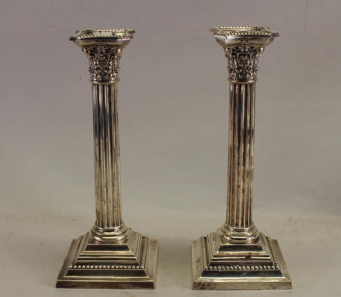 Gorham Sterling Silver Candlesticks