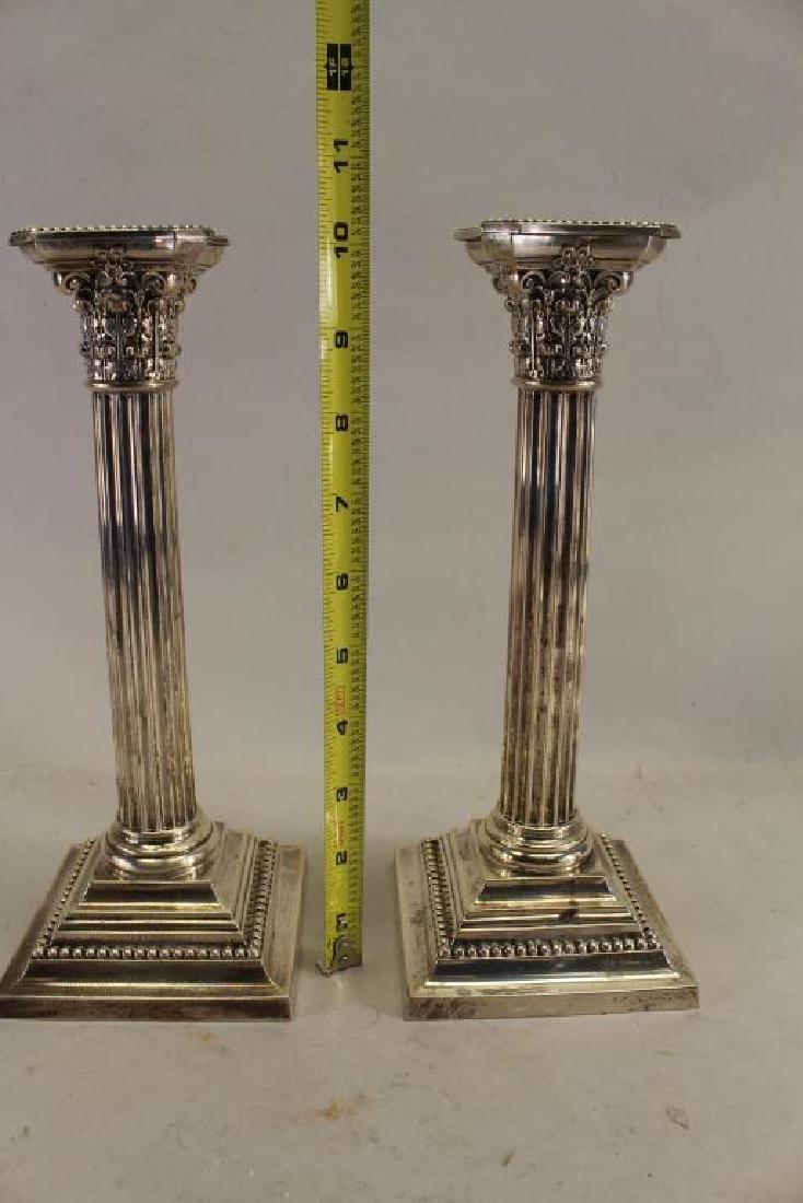 Gorham Sterling Silver Candlesticks - 2