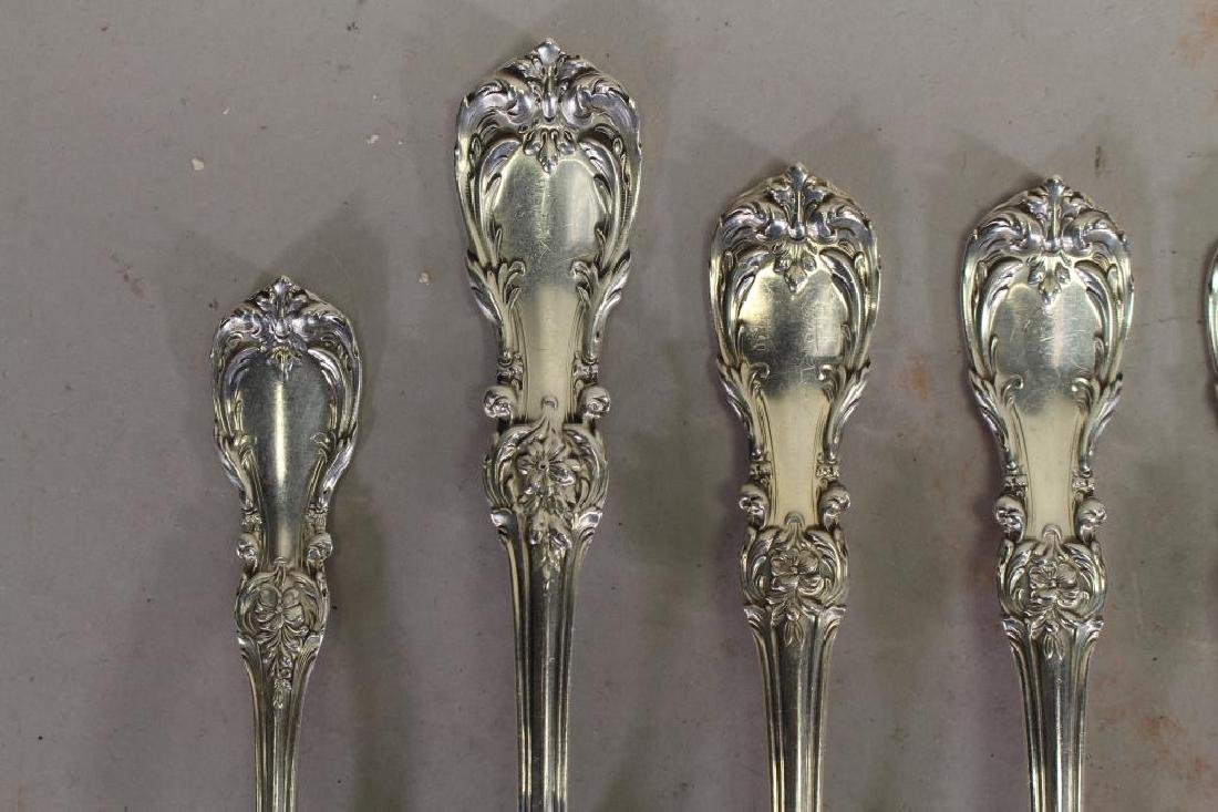(12) Reed & Barton Sterling Silver Forks - 2
