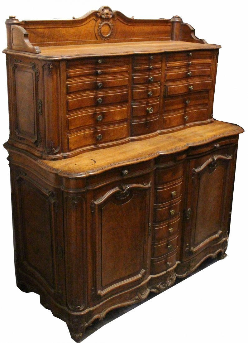 Exceptional 19th C. Dental Cabinet