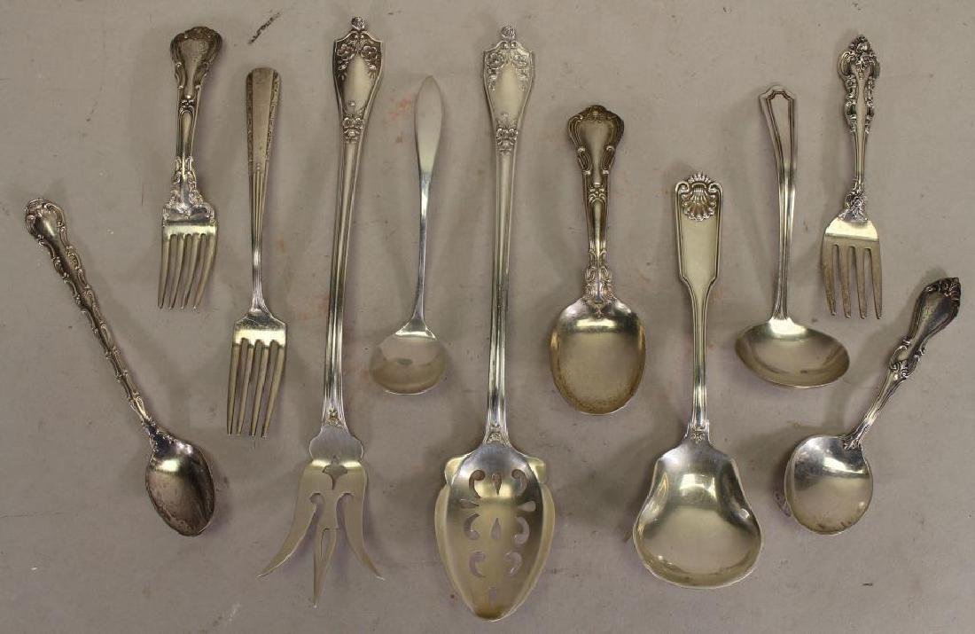 (11) Sterling Silver Assorted Flatware