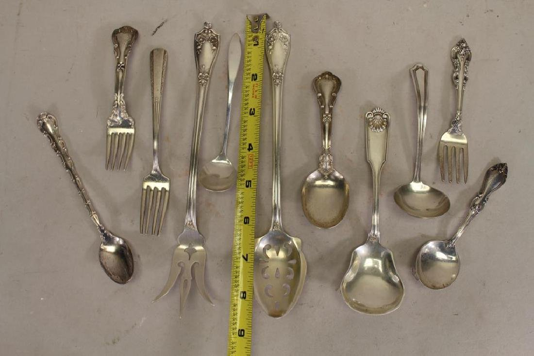 (11) Sterling Silver Assorted Flatware - 3
