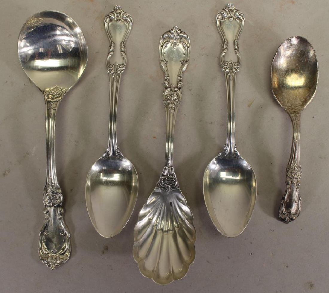 (5) Sterling Silver Reed & Barton Spoons