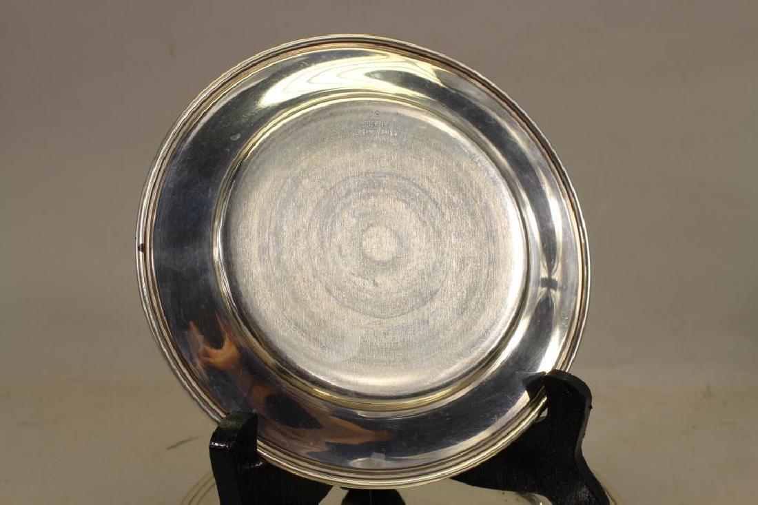(9) Monogrammed Kirk & Sons Sterling Silver Dishes - 4