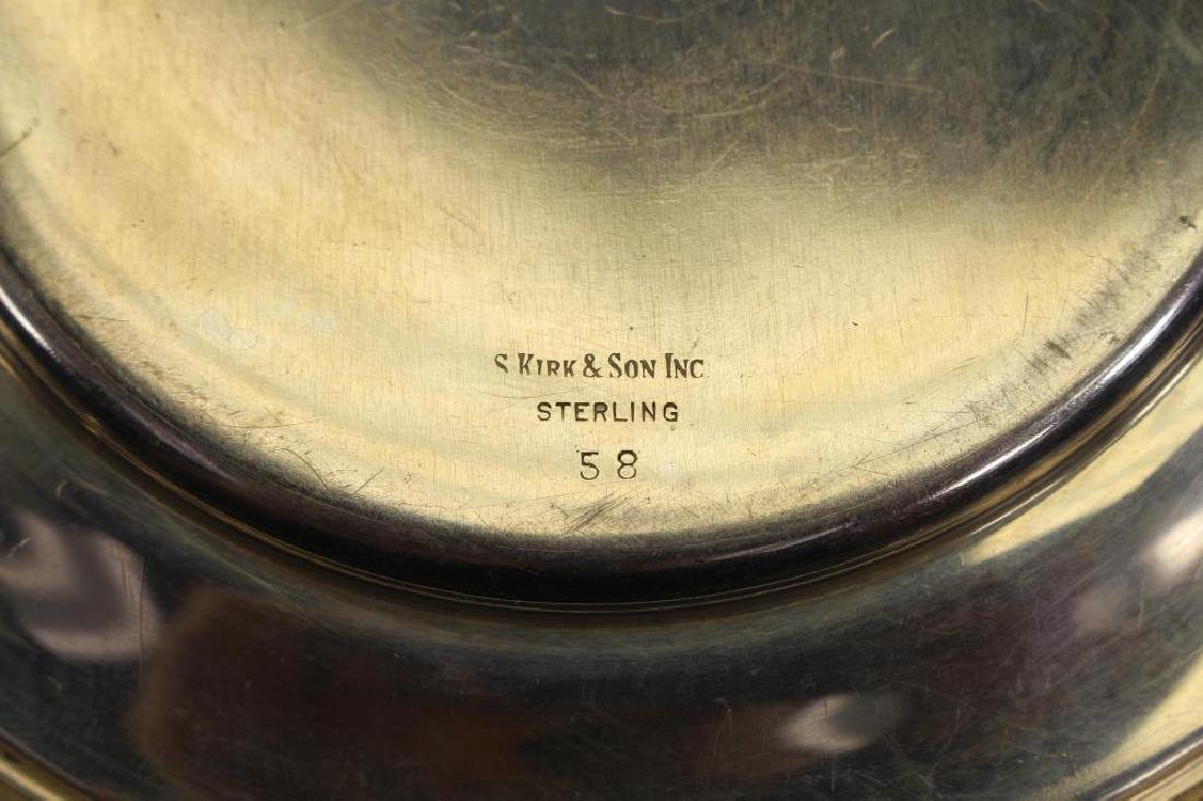 (9) Monogrammed Kirk & Sons Sterling Silver Dishes - 5