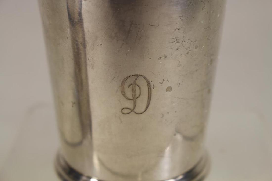 (6) Kirk & Sons Monogrammed Sterling Silver Cups - 3
