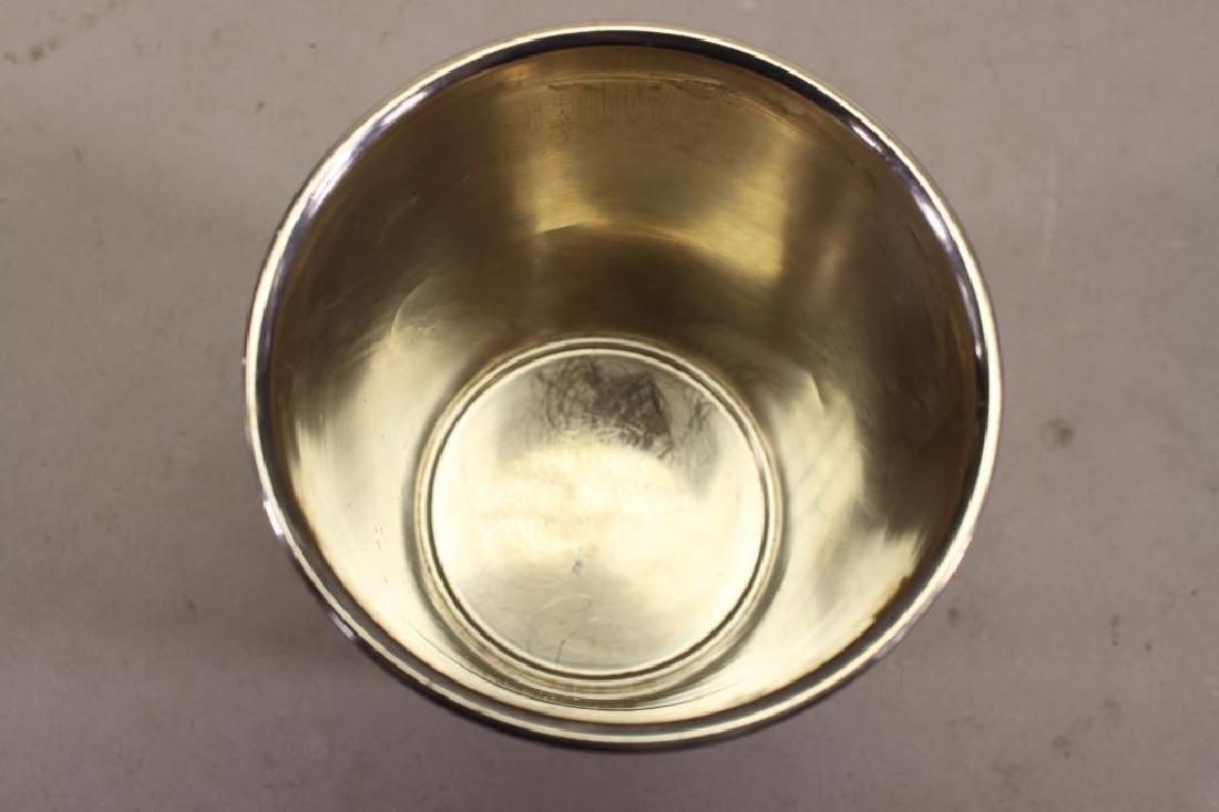 (6) Kirk & Sons Monogrammed Sterling Silver Cups - 4