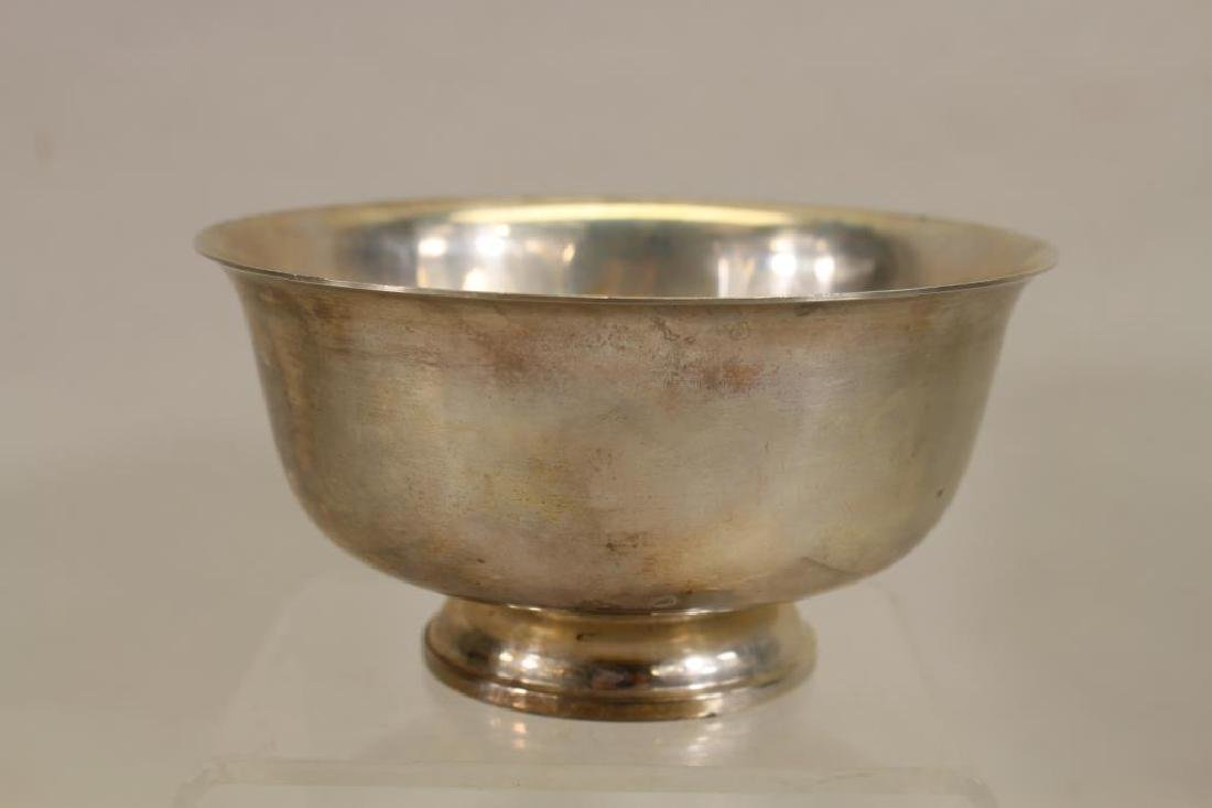 """Sterling Silver """"Paul Revere"""" Reproduction Bowl"""
