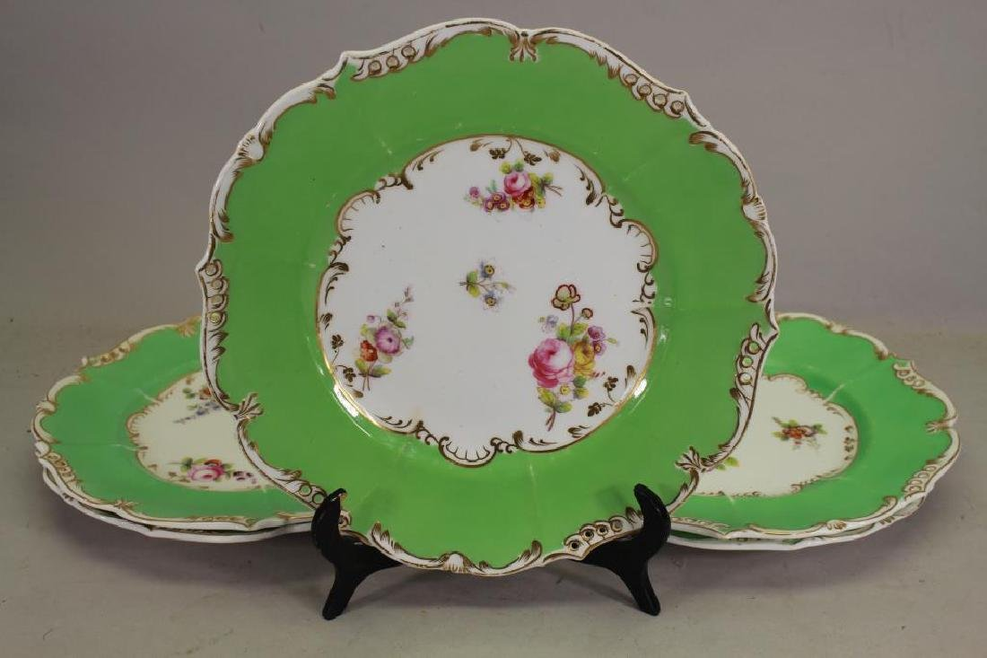 (5) European Style Floral Porcelain Dishes