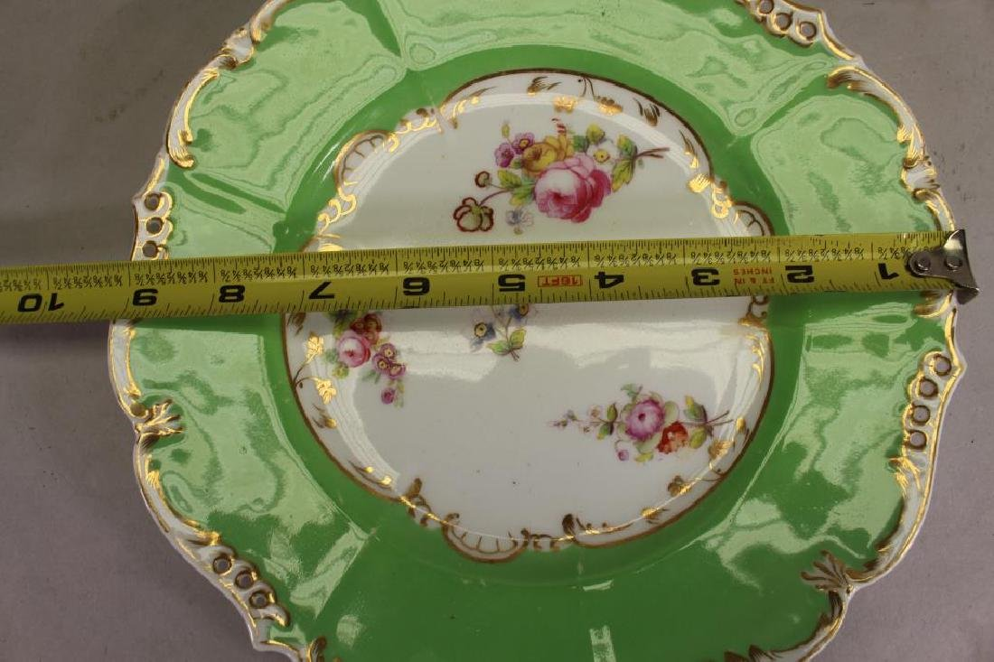 (5) European Style Floral Porcelain Dishes - 4