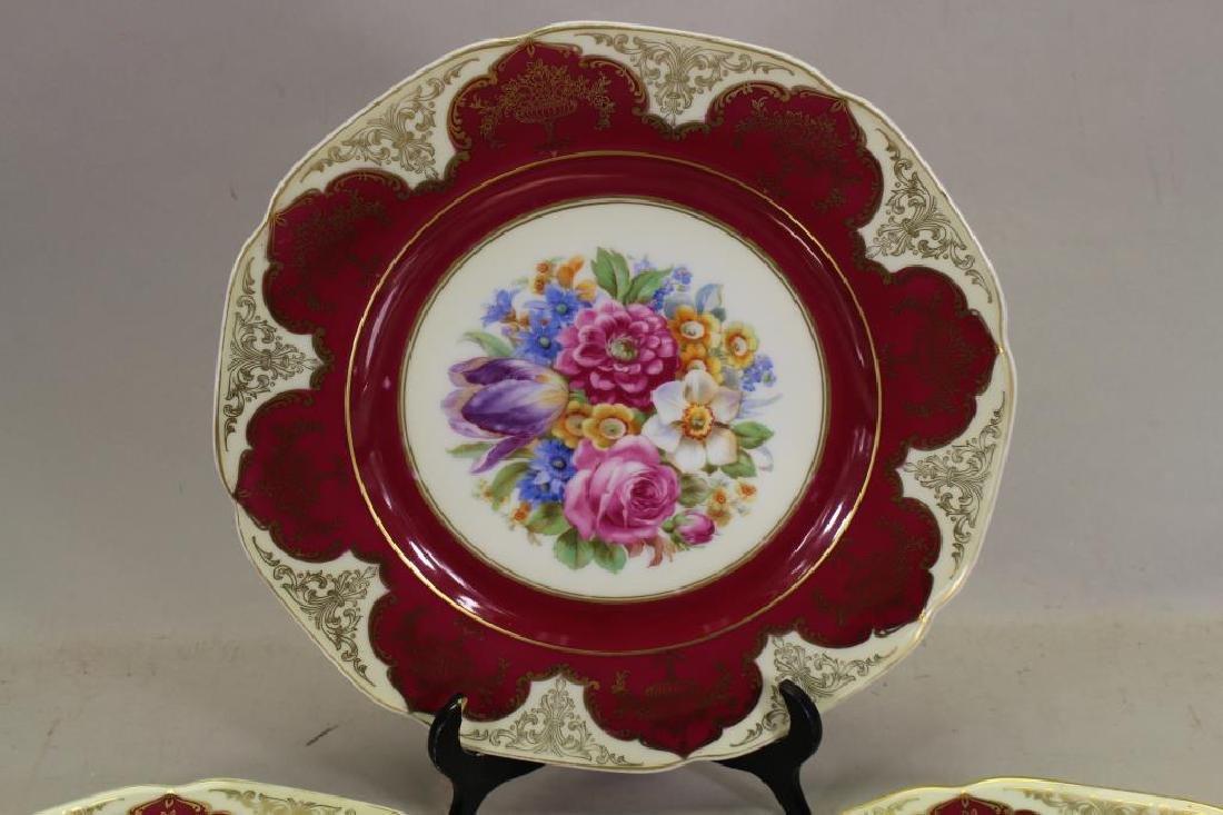 (3) Bavaria Porcelain Plates - 2