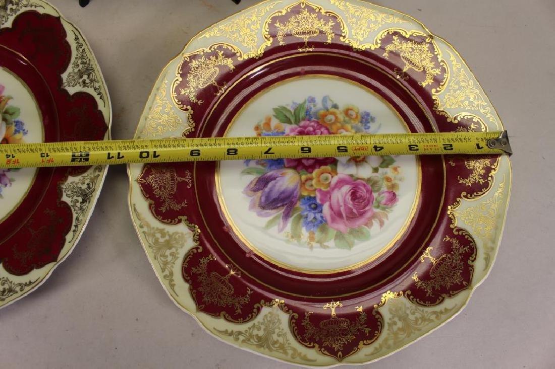 (3) Bavaria Porcelain Plates - 3