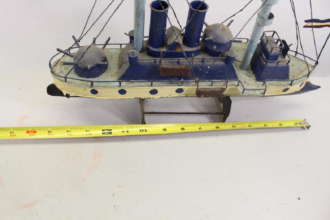 (2) Ship Models on Stand - 6
