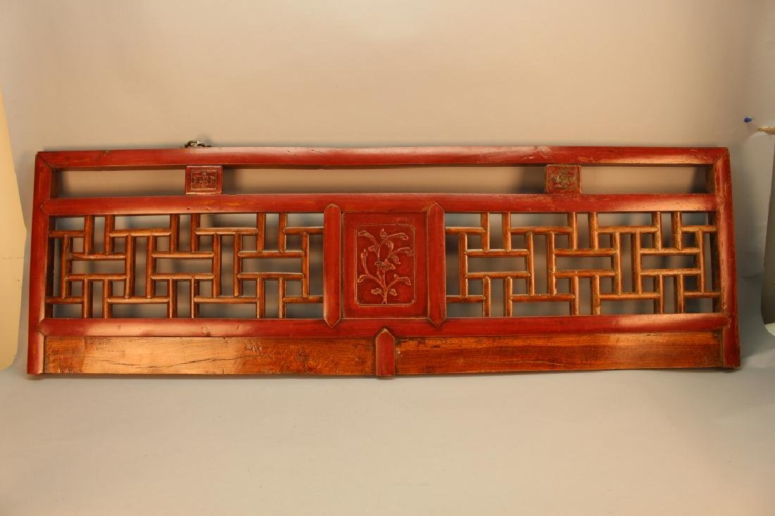 Antique Carved Chinese Panel