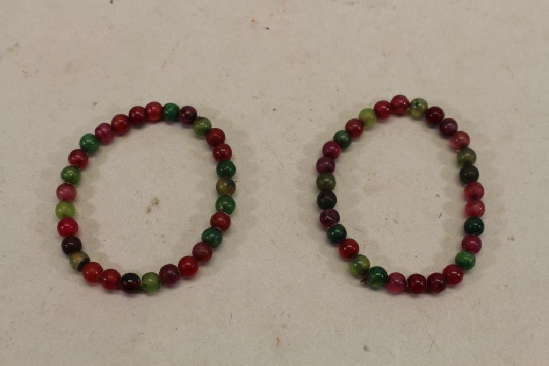 (2) Beaded Bracelets