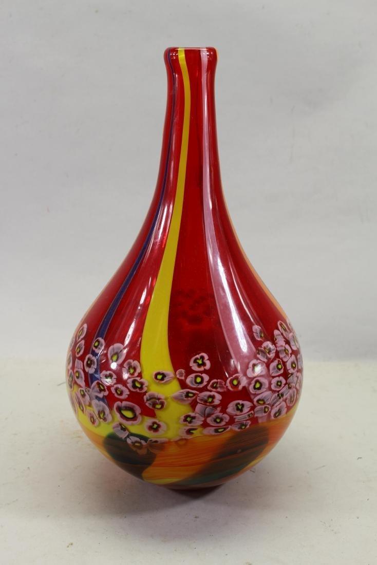Vintage Murano Style Vase