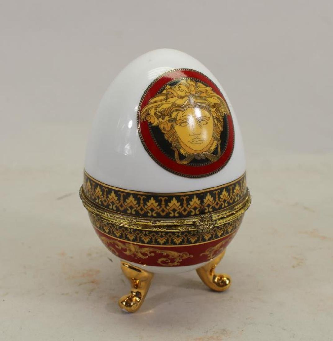 Versace Style Egg