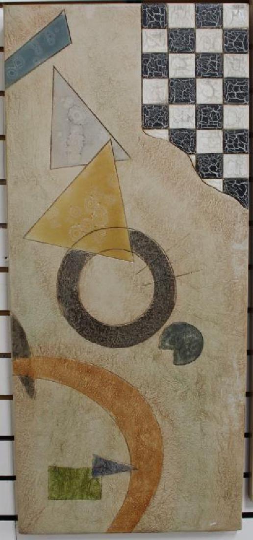 (2) Modernist Artworks on Panel - 2