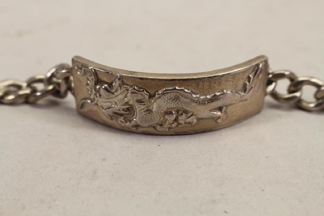 (2) Engraved Sterling Bracelets - 2