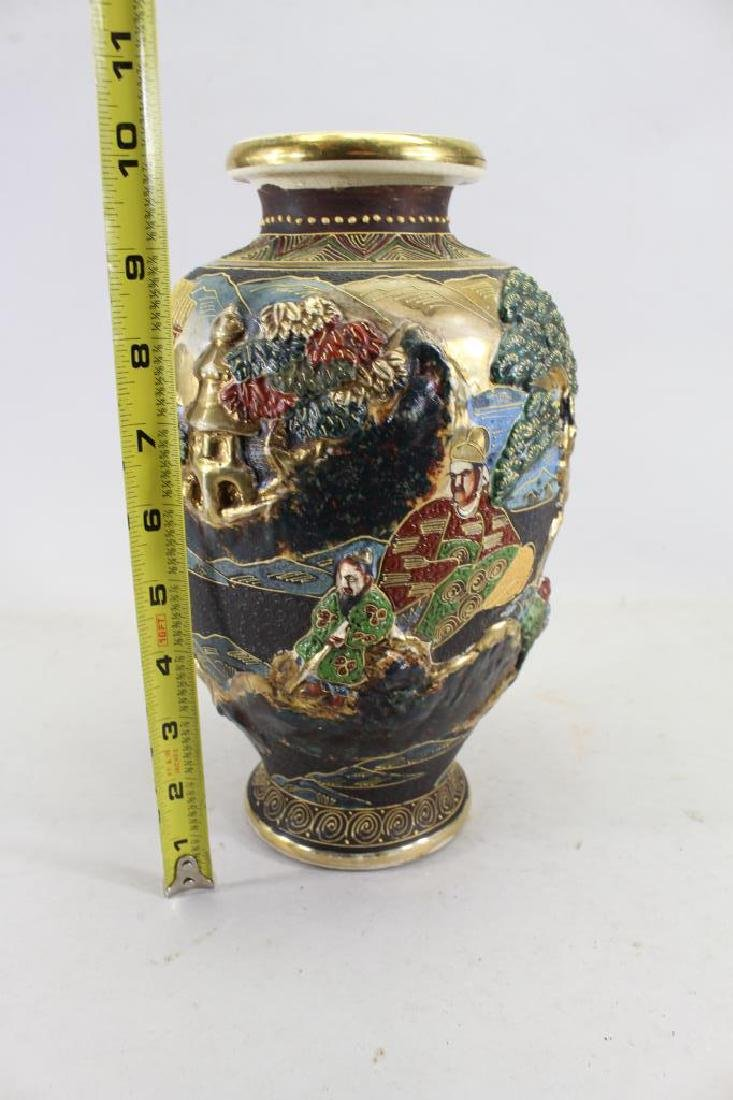 20th C. Japanese Figural Vase - 3