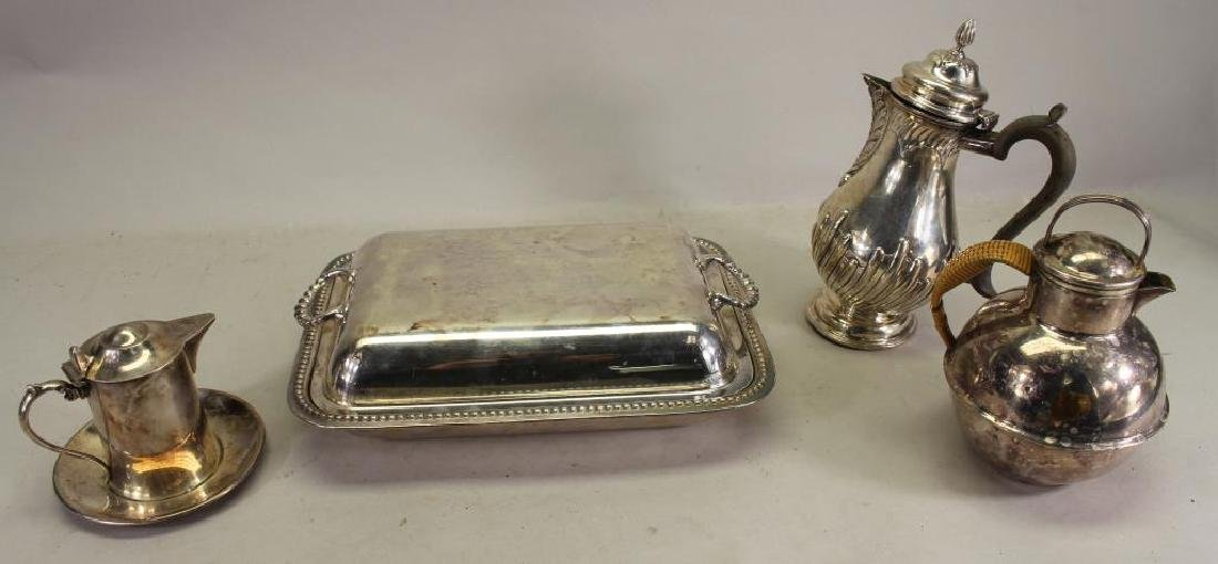 (4) Silverplate Articles