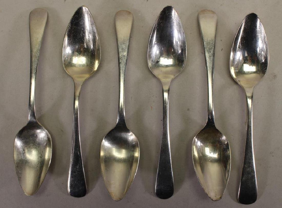 Sheffield Silverplate Spoons (6)